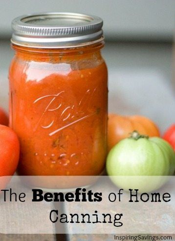 With the rising cost of food everyone is looking for alternative ways to save money on healthy foods. One of my favorite things to do is home canning. See the benefits of home food Canning and Preserving.