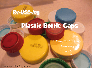 Re-USE-ing plastic bottle caps