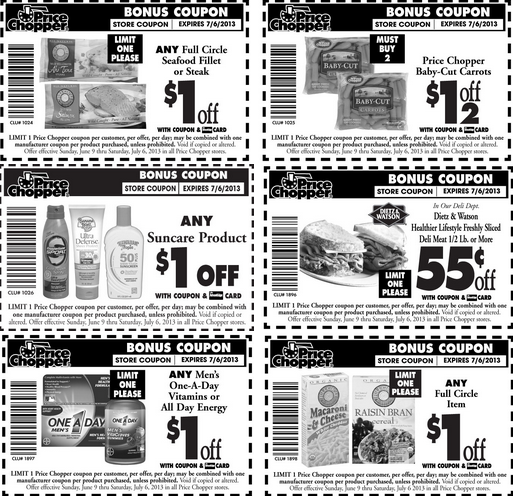 Price Chopper Health & Wellness Coupons