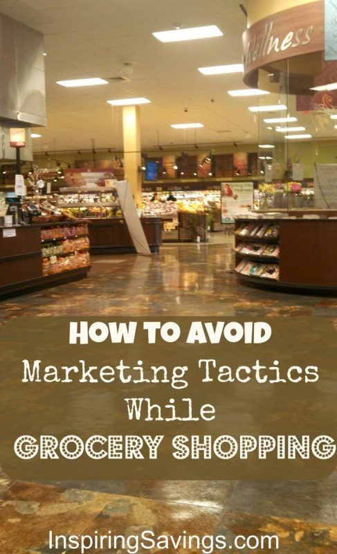 learn how to grocery shop like a pro. Avoid marketing tactics used to get you to spend more at the store. Let's outsmart the experts