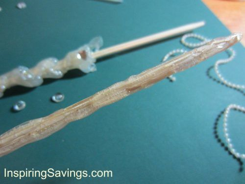 Realistic Homemade Wizard Wands- Tip