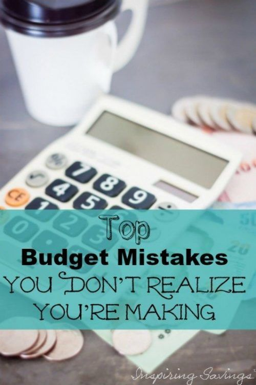 Are you making these Budget Mistakes? Check out our comprehensive list of budgeting mistakes that cost you money! Make good budget changes with our tips!