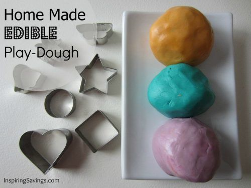 Edible Playdough is a favorite kid-friendly craft project to make! Our recipe is a delicious and fun way to get hours of playtime this weekend with kids!