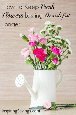 How To Keep Fresh Flowers Lasting Beautiful Longer