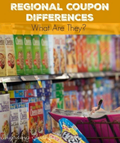 Did you know that every area and paper get different coupons? This is what we call Regional Coupon Differences. Why do we get them? Learn here
