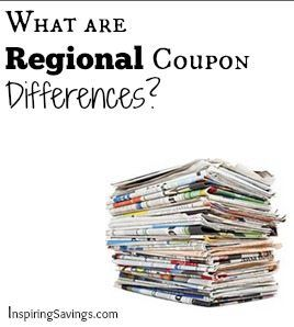 What Are Regional Coupon Difference