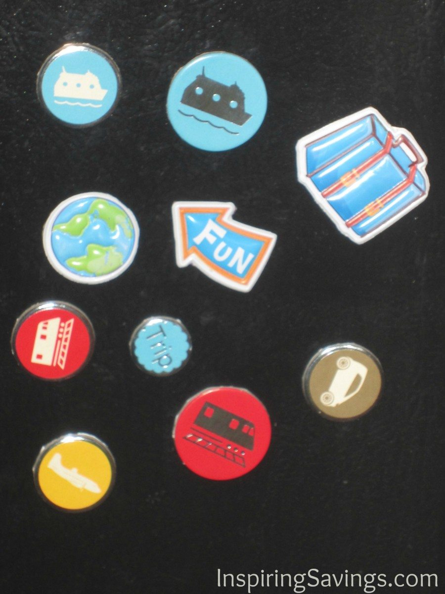 magnets completed upcycled