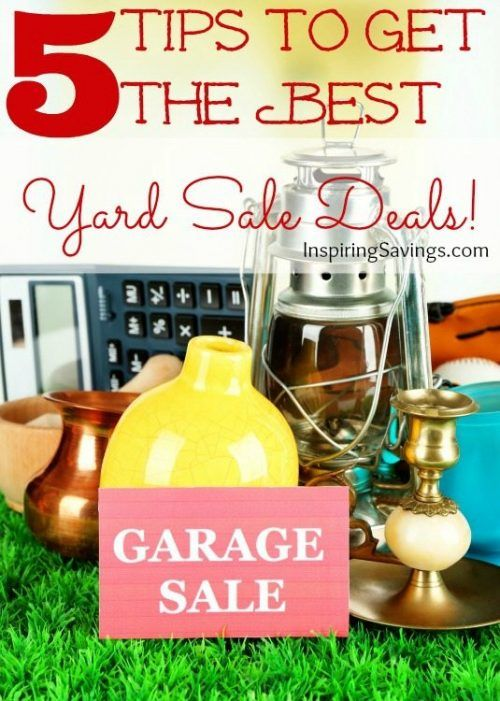 Warmer weather is here and for frugal shoppers everywhere that means yard sales! Don't go into it not prepared. Often time that can leave you paying more.