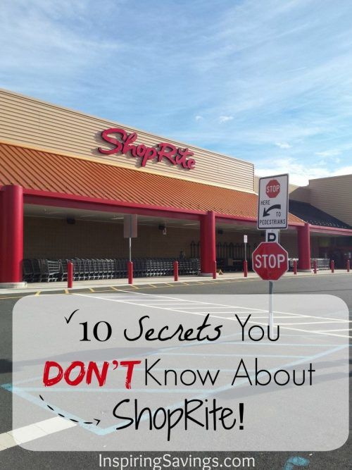 10 Secrets you don't know about ShopRite