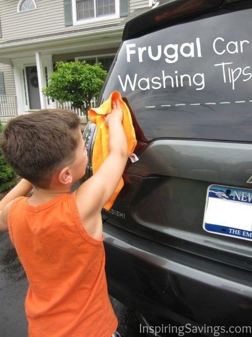 Frugal Car Washing Tips