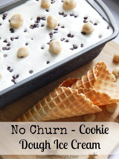 This Cookie Dough Ice Cream is an amazing no churn recipe that is stuffed full of cookie dough chunks in every bite! Made with fresh cream and easy to make