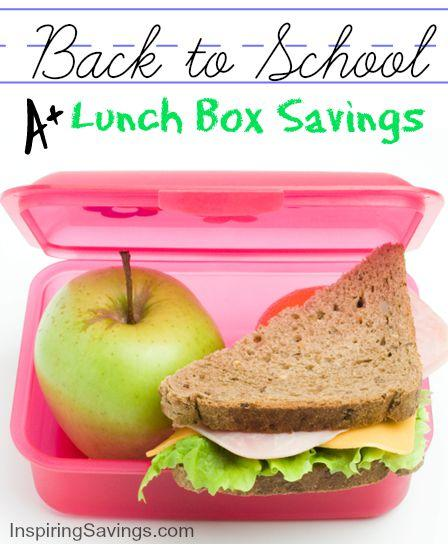 kids heading back to school and you need to save money on lunches. Check out these money saving ideas