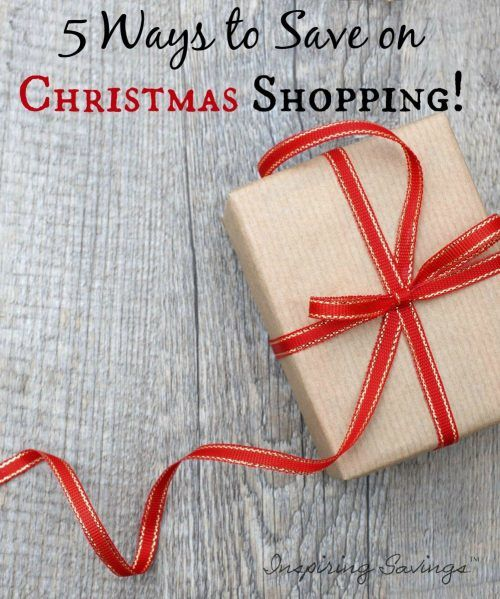 With Christmas coming up it is no surprise that we are looking for ways to give without breaking the bank. See 5 Frugal Tips to Save on Your Christmas Shopping