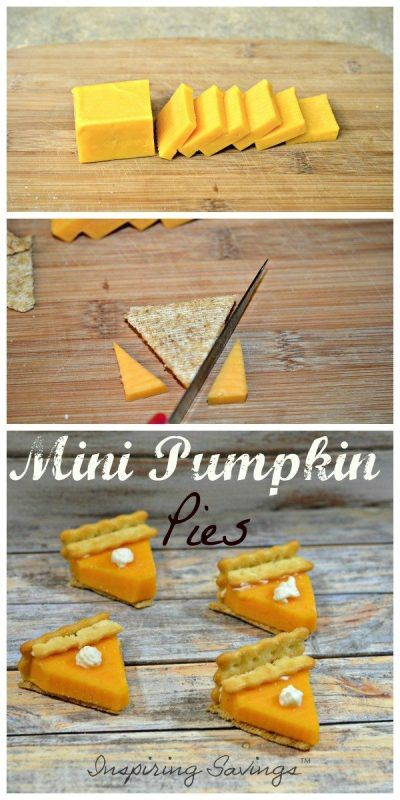 Surprise your kids or guest with these adorable mini pumpkin pies. These savory appetizers will be a hit at your next get together. Quick & easy tutorial