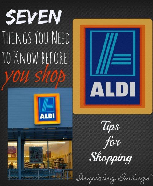 Seven things you need to know before shopping at aldi. Get some great shopping tips. Who Knew