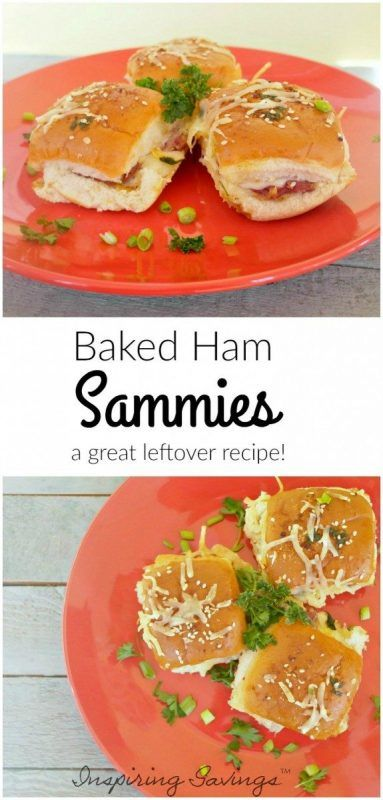 Baked Ham Sandwiches Like This Simple Recipe Are Ideal For Using Up Leftovers Or Making A