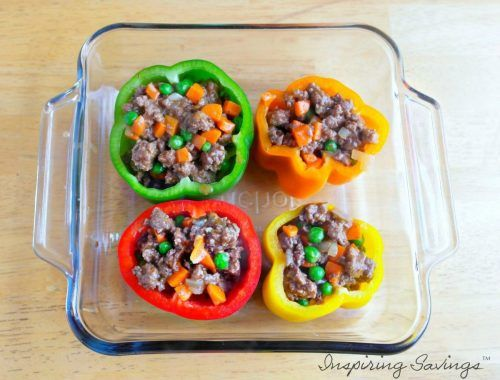 This is a new twist on an old classic. A family favorite Shepard's Pie and Stuffed Bell Peppers. I present to you Shepard's Pie.Stuffed Bell Peppers.