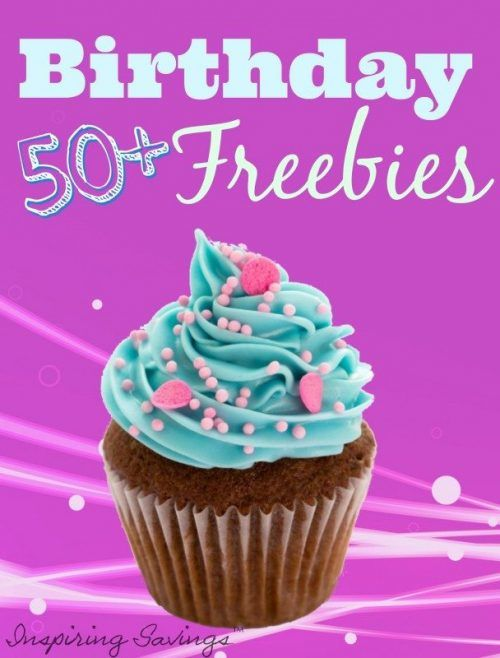 Now that's a TON (perhaps literally) of FREE Birthday Food & Stuff! Hopefully you have enough FREE time on your Birthday to go on a Birthday FREEBIE Spree! These FREE Birthday offers do change.