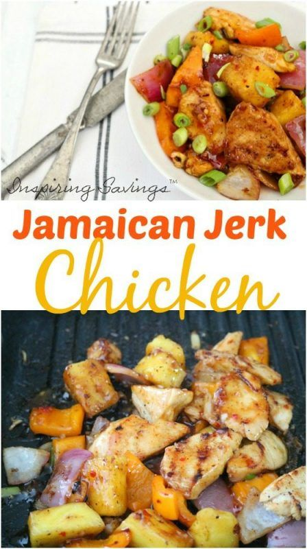 Don't miss our delicious Jamaican Jerk Chicken Recipe! So easy to throw together! This packs a punch of flavor everyone will love!