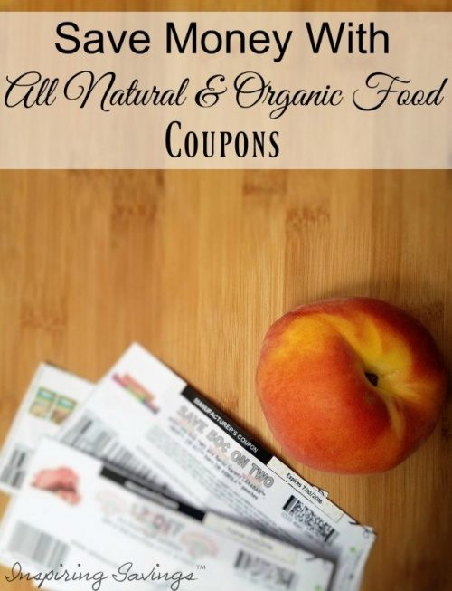 Come check out how you can save Money on Healthy delicious foods while staying on your budget. See this list of organic Coupons