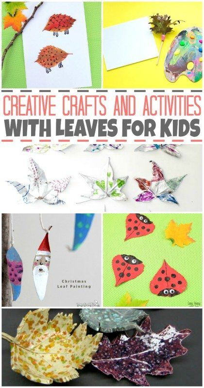 We all have them in our yards come fall time. Let's turn those fun shaped leaves into creative crafts and activities for your kids to enjoy