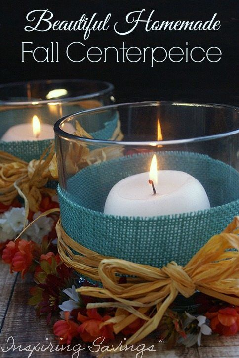 A beautiful homemade Fall centerpiece is the perfect way to celebrate the season, and any DIYer's dream. Make a beautiful fall centerpiece for your home.