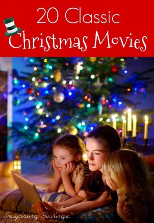 It's time to gather around the TV with your family and watch Classic Christmas Family Movies. Get ready for a fun and festive evening at home.