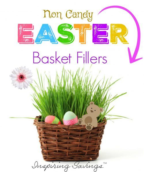 With Easter just around the bend, I wanted to share with you some Non Candy Easter Basket Filler Ideas that your kids will love.