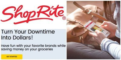 Turn Your Downtime Into Dollars with this NEW Program from ShopRite! Save even more money on your grocery shopping. Check out the program details