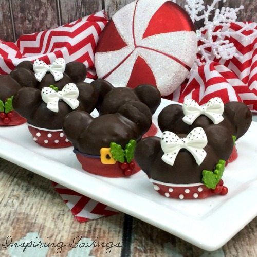 Hosting a Disney Inspired Christmas Party. You can create these beautifully creative Christmas Mickey and Minnie Mouse Cake balls with step by step instructions.